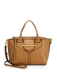 Botkier Dylan Leather Satchel Tan