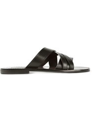 Dolce And Gabbana 'Vesuvio' Sandals Black