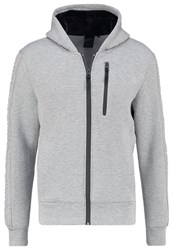 Redskins Turbo Makao Tracksuit Top Grey Chine Mottled Grey