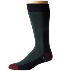 Dr. Martens Doc's Sock Green Cherry Red Navy Knee High Socks Shoes Black