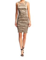 Nicole Miller Sage Ruched Dress
