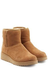 Ugg Australia Classic Slim Short Suede Boots Brown