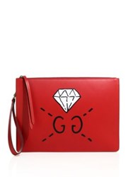 Guccighost Document Holder Red