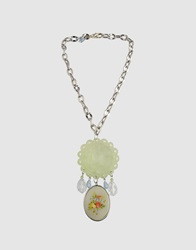 Tarina Tarantino Necklaces Light Green