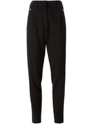Versus Slim Fit Trousers Black