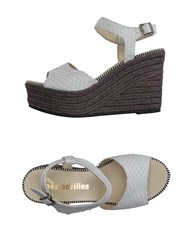 Espadrilles Footwear Sandals Women White