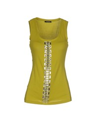 Caractere Topwear Tops Women Acid Green