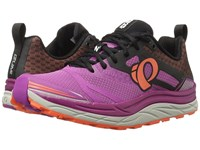 Pearl Izumi Em Trail N3 Purple Wine Clementine Women's Running Shoes Pink
