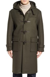 Mackintosh Men's Wool Duffle Long Coat
