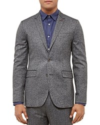 Ted Baker Lincon Woven Regular Fit Sport Coat Charcoal