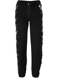 Filles A Papa 'Amen' Jogging Pants Black