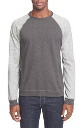 Rag And Bone Men's Rag And Bone Colorblock Raglan Sleeve Sweatshirt