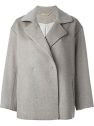 Arts And Science Double Breasted Coat Grey