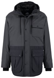 Dickies Hartford City Winter Coat Charcoal Grey