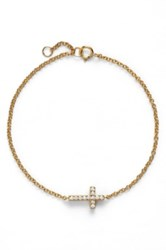 Sugar Bean Jewelry Cross Station Bracelet Metallic