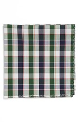 Original Penguin Men's Check Cotton Pocket Square