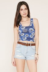 Forever 21 Floral Print Tank