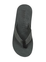 Reef Draftsmen Full Grain Leather Flip Flops