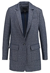 Banana Republic Blazer Indigo Dark Blue