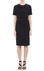 Barneys New York Women's Popover Sheath Dress Black