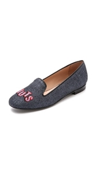 Markus Lupfer Coconuts Glitter Loafers Blue
