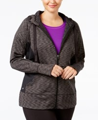 Ideology Plus Size Fleece Lined Hoodie Only At Macy's Noir Space
