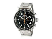 Shinola Detroit The Sport 48Mm 10000090 Black Stainless Steel Watches