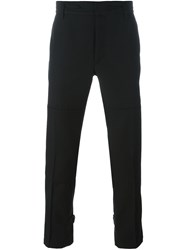 Marc Jacobs Panelled Cropped Trousers Black