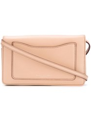 Marc Jacobs 'Recruit' Wallet Crossbody Bag Pink And Purple