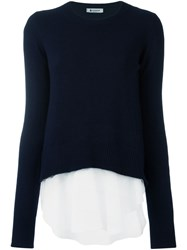 Dondup 'Annistan' Jumper Blue