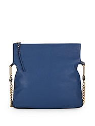 Chloe Vanessa Medium Leather Shoulder Bag Royal Navy