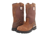 Carhartt Cmp1100 11 Wellington Boot Bison Brown Men's Work Pull On Boots