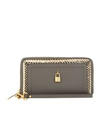 Juicy Couture Luxe Locks Zip Around Wallet Female