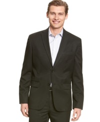 Calvin Klein Core Solid 2 Button Blazer Black