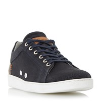 Dune Tidal Suede Trainers Navy