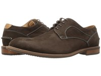 Florsheim Frisco Plain Toe Oxford Brown Nubuck Men's Plain Toe Shoes