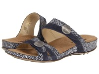 Romika Fidschi 22 Blue Combination Women's Sandals Gray