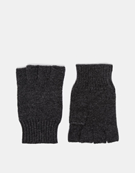 Esprit Fingerless Gloves Grey