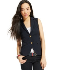 Tommy Hilfiger Double Button Blazer Vest