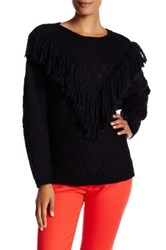Trina Turk Lilee Merino Wool Sweater Black