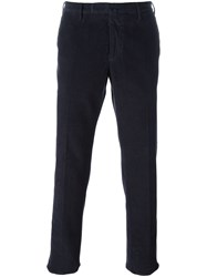 Incotex Corduroy Trousers Blue
