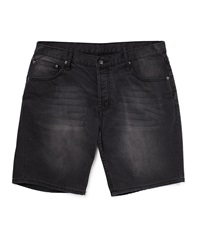 Cheap Monday High Cut Shorts Black In Skinny Fit