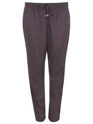 Evans Grey Tapered Trousers