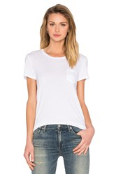 Ag Adriano Goldschmied Quinn Pocket Tee White