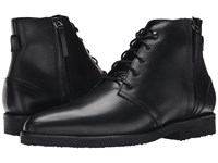 The Kooples Smooth Leather Zip Boot Black Men's Zip Boots