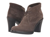La Canadienne Korey Stone Oiled Suede Women's Lace Up Boots Gray