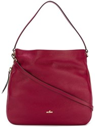 Hogan Hobo Shoulder Bag Red
