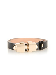 Carven Patent Leather Waist Belt