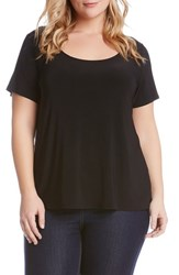 Plus Size Women's Karen Kane Short Sleeve Tee
