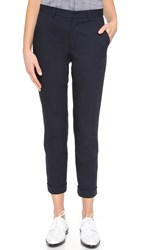 Steven Alan Slim Trousers Navy